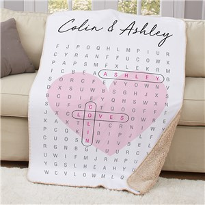Personalized Blankets | Romantic Couples Gifts