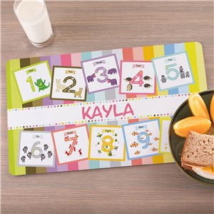 Personalized Placemat For Kids
