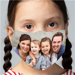 Personalized Photo Face Mask For Kids