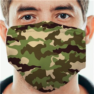 Personalized Camo Face Mask