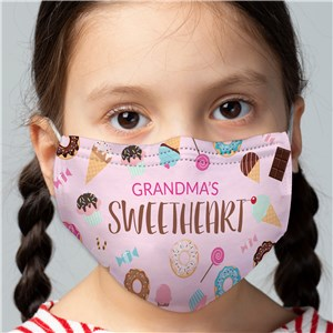 Sweetheart Kids' Face Mask