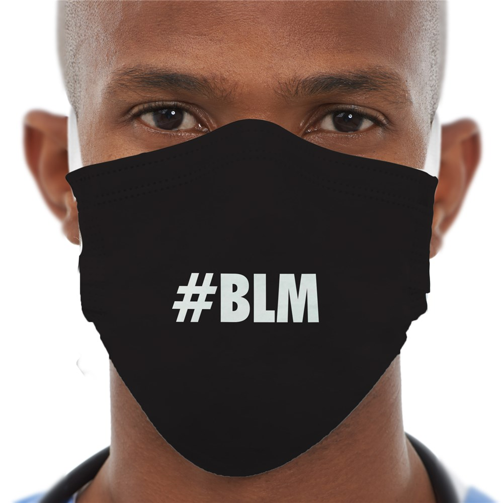 Personalized Black Lives Matter Face Mask