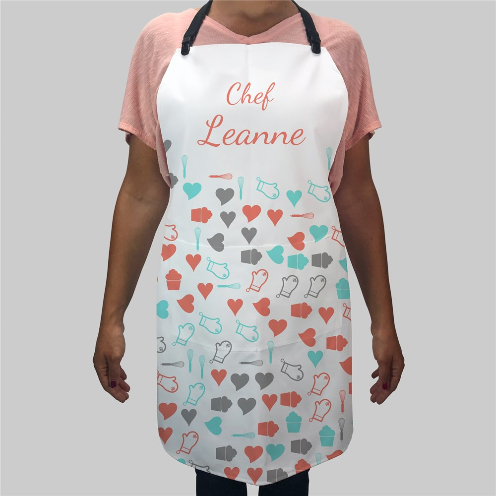Chef Word-Art Apron