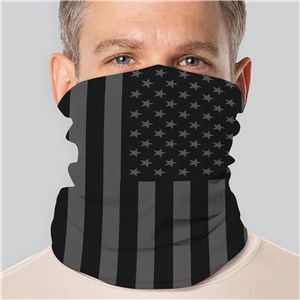 Personalized American Flag Gaiter