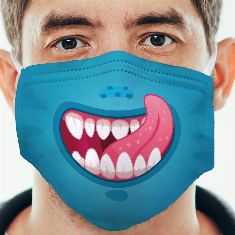 Family Monster Mouths Adult Face Mask