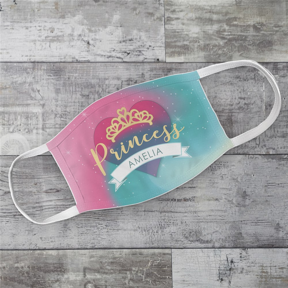 Personalized Princess Youth Face Mask