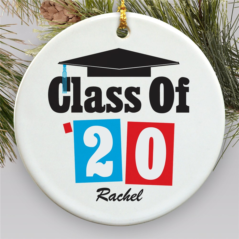 Personalized Ceramic Ornament for Graduation | 2019 Gifts For Graduation