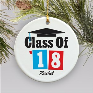 Personalized Ceramic Ornament for Graduation | 2018 Gifts For Graduation