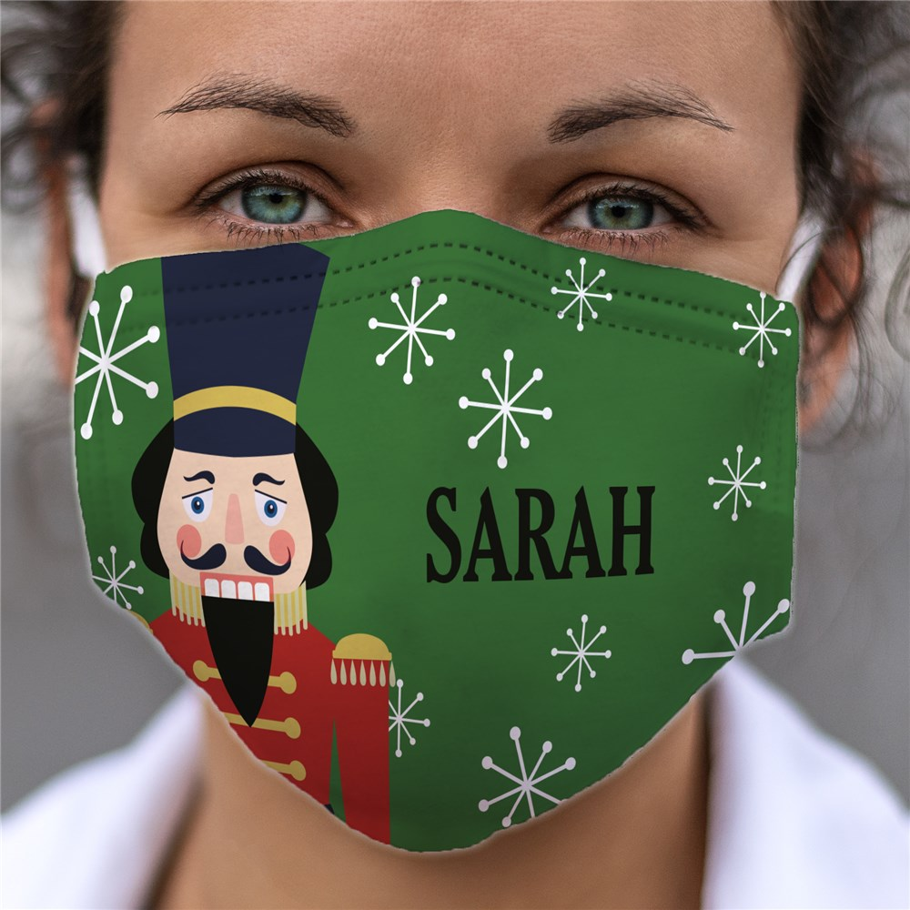 Personalized Christmas Characters Face Mask