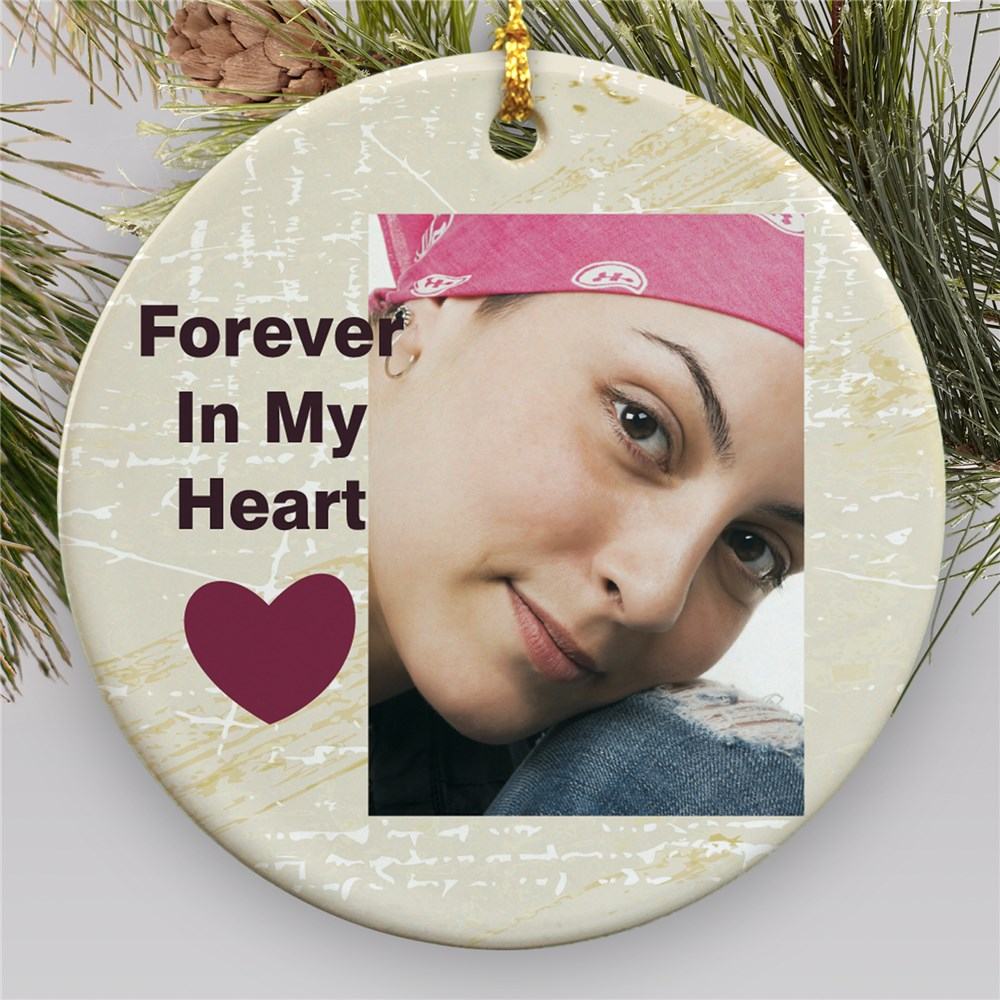 Memorial Photo Holiday Ornament | Memorial Ornament