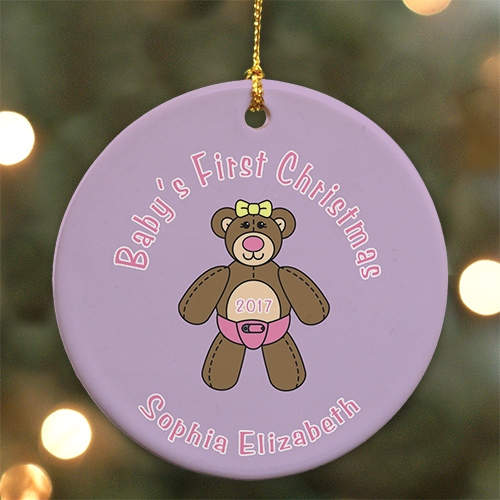 Baby's First Christmas Ornament | Baby's First Christmas Ornaments