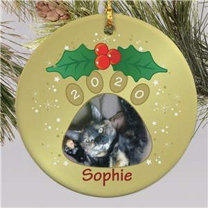 Pet Photo Christmas Ornament | Personalized Pet Ornaments
