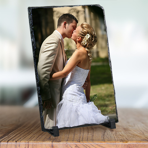 Picture Perfect Wedding Photo Stone Keepsake U382767