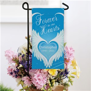 Personalized Memorial Garden Flag