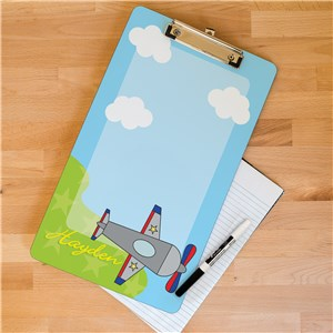 Personalized Airplane Clipboard U394424