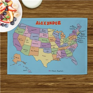 Personalized United States Placemat U407121