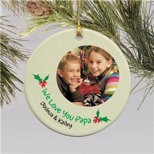Christmas Photo Ornament | Picture Ornaments