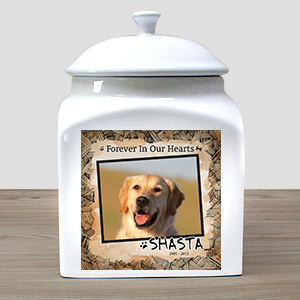 Personalzied Ceramic Dog Photo Urn U589816X