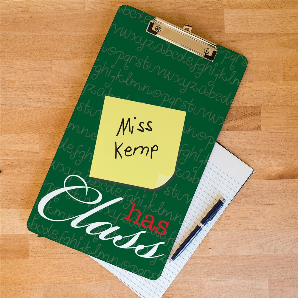Personalized Teacher Clipboard | Personalized Teacher Gifts