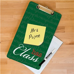 Personalized Gifts For Teachers | Teacher Clipboards