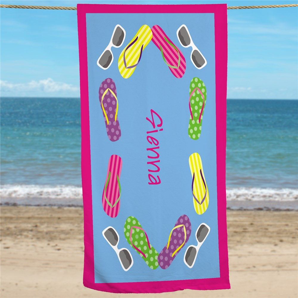 Personalized Beach Towels | Beach Towels With Names