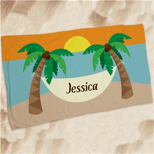 Personalized Summer Vacation Beach Towel | Personalized Beach Towels