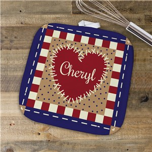 Personalized Pot Holder | Kitchen Gifts With A Name