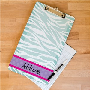 Personalized Dry Erase Clipboard for Her U674624