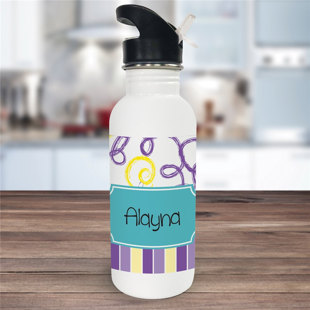 Personalized Water Bottle for Her U675120
