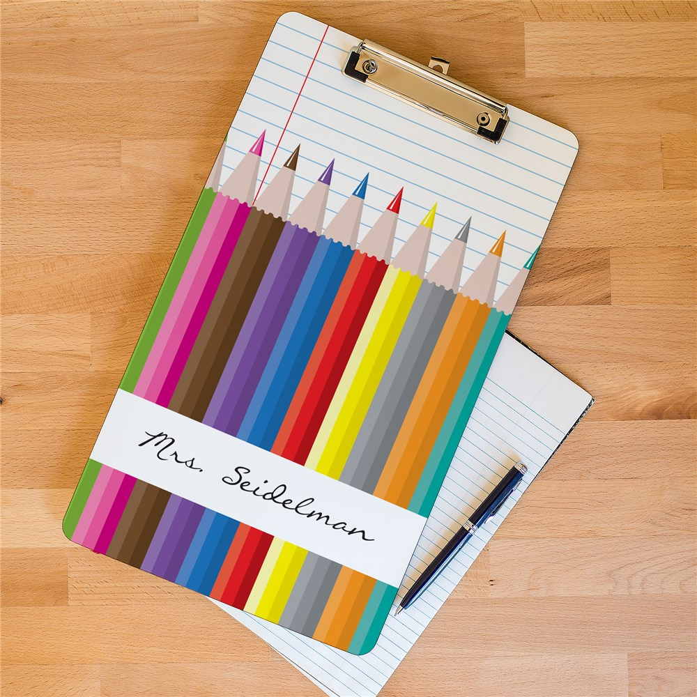 Personalized Teacher Dry Erase Clipboard | Personalized Teacher Gifts