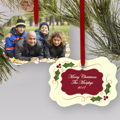 Personalized Family Photo Ornament | Picture Ornaments