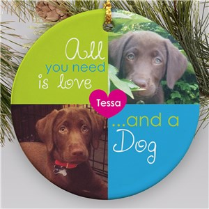 Pet Photo Ornament | Personalized Pet Ornaments