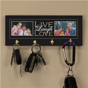 Live, Laugh, Love Photo Key Rack | Gifts For The Home