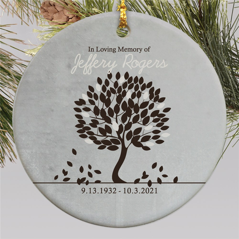 In Loving Memory Personalized Ornament | Memorial Christmas Ornaments