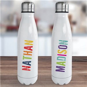 Personalized Water Bottle | Reusable Water Bottle