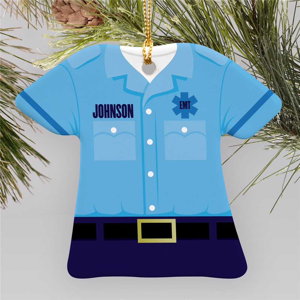 Personalized EMT Ornament U795763