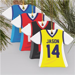 Basketball Jersey Ornament U795836