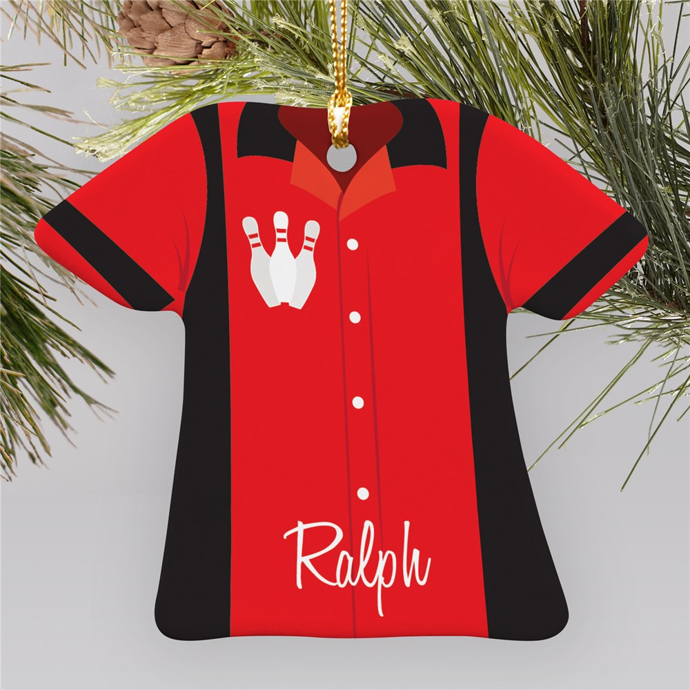 Personalized Sports Jersey Ornament U684763