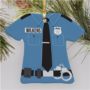 Police Ornaments | Police Officer Christmas Ornament