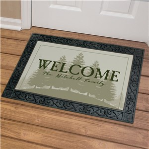 Personalized Welcome Doormat | Housewarming Gifts