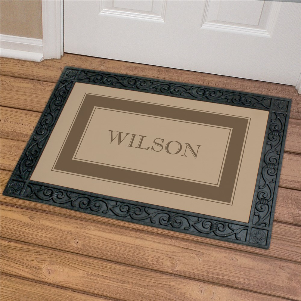 Welcome Family Doormat | Personalized Housewarming Gifts
