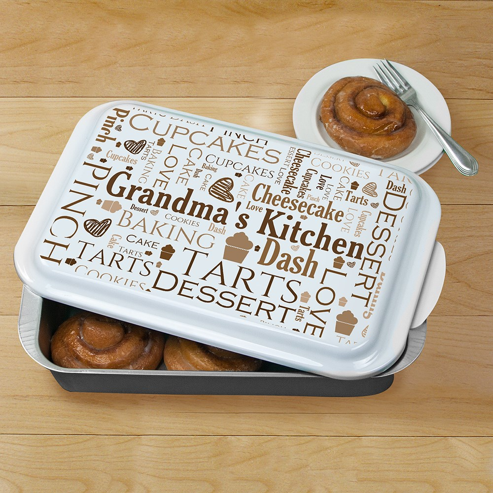Personalized Family Word-Art Cake Pan U8175109