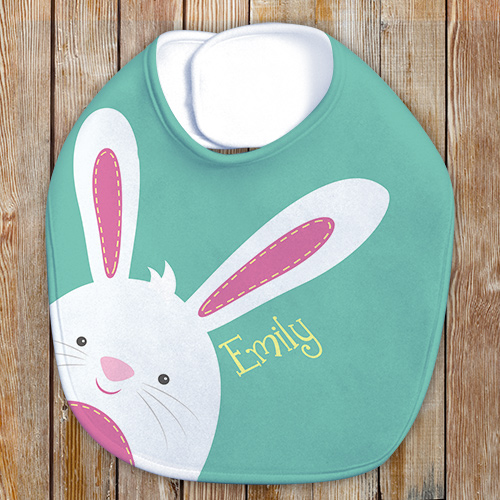 Personalized Easter Bib | Personalized Easter Gifts For Babies