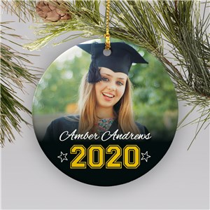 Custom Graduation Ornament | Personalized Graduation Gifts