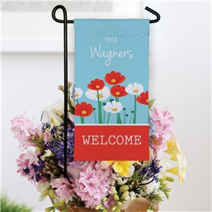 Personalized Small Summer Garden Flag