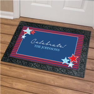 Personalized Fourth of July Doormat | Personalized Doormats