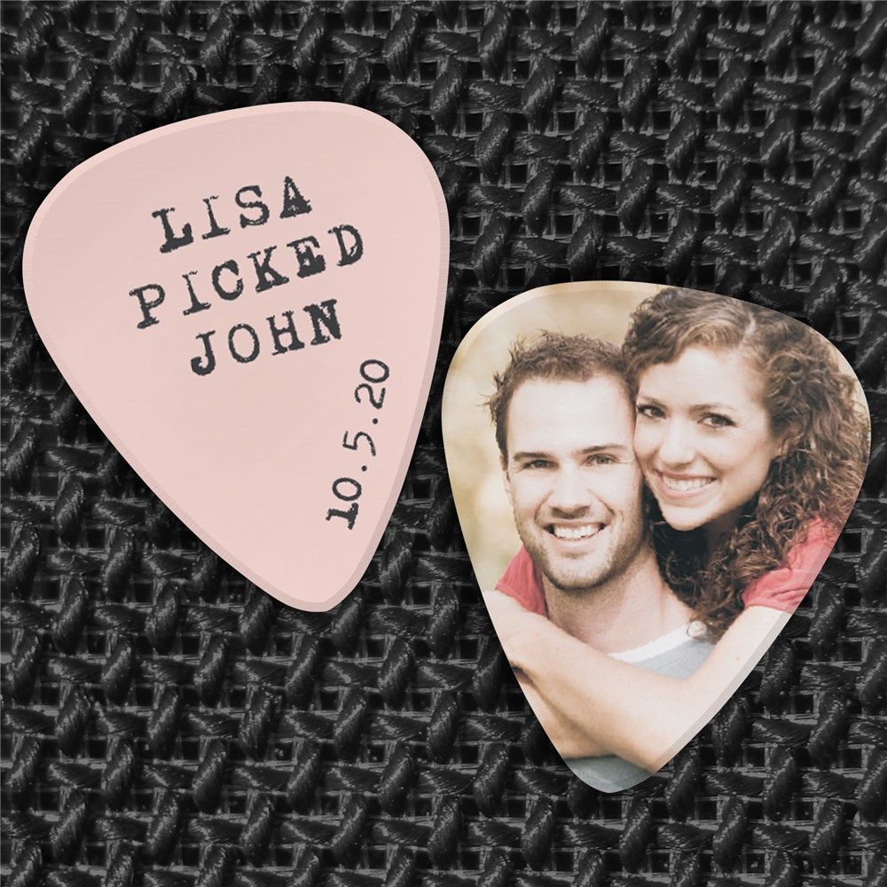 Personalized Photo Guitar Pick U956385X