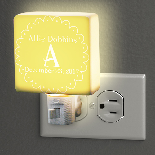 Personalized Baby Night Light | Personalized Baby Gifts
