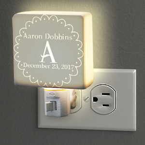 Personalized Baby Night Light U958411