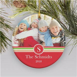 Family Photo Ornament | Picture Ornaments